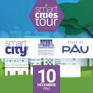 La FNCCR & Territoire Numérique vous invitent à Smart Cities Tour – Pau